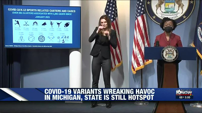 COVID-19 variants wreaking havoc in Michigan, state still hotspot