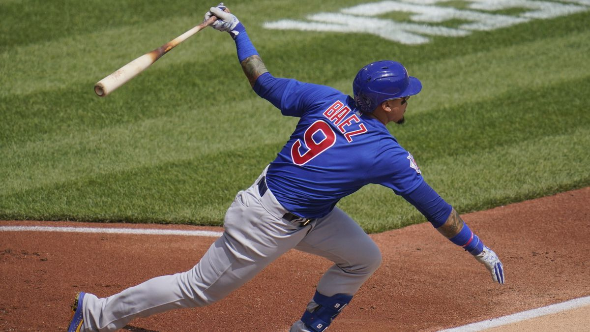 Javy Baez hit a go-ahead two-run home run in the sixth inning and the Chicago Cubs' struggling...