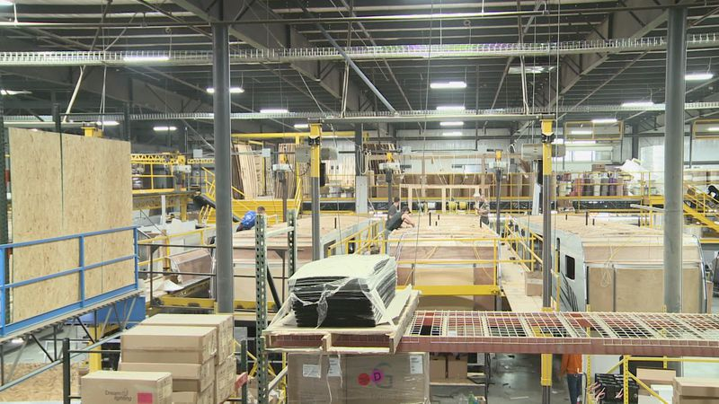 A start-up RV manufacturer in Elkhart today announced plans to build two new plants and hire...