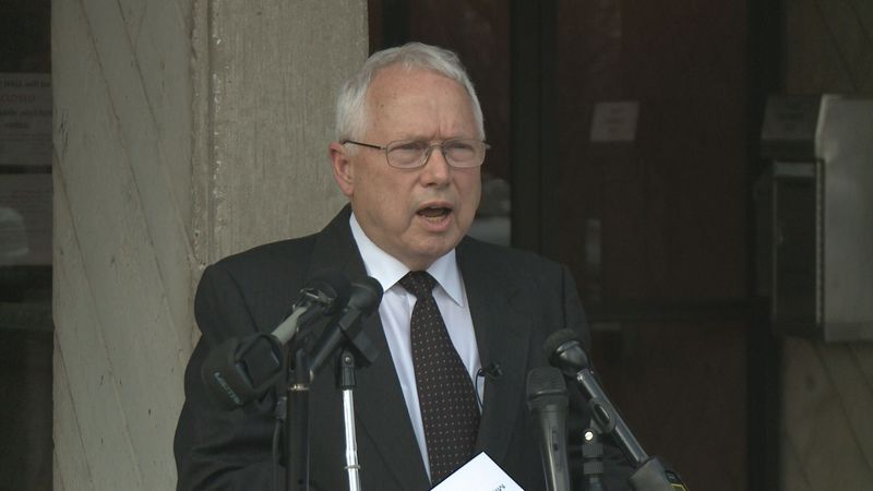 Mayor Parry did not say he is going to resign. He said he's sorry for his words, and he will...