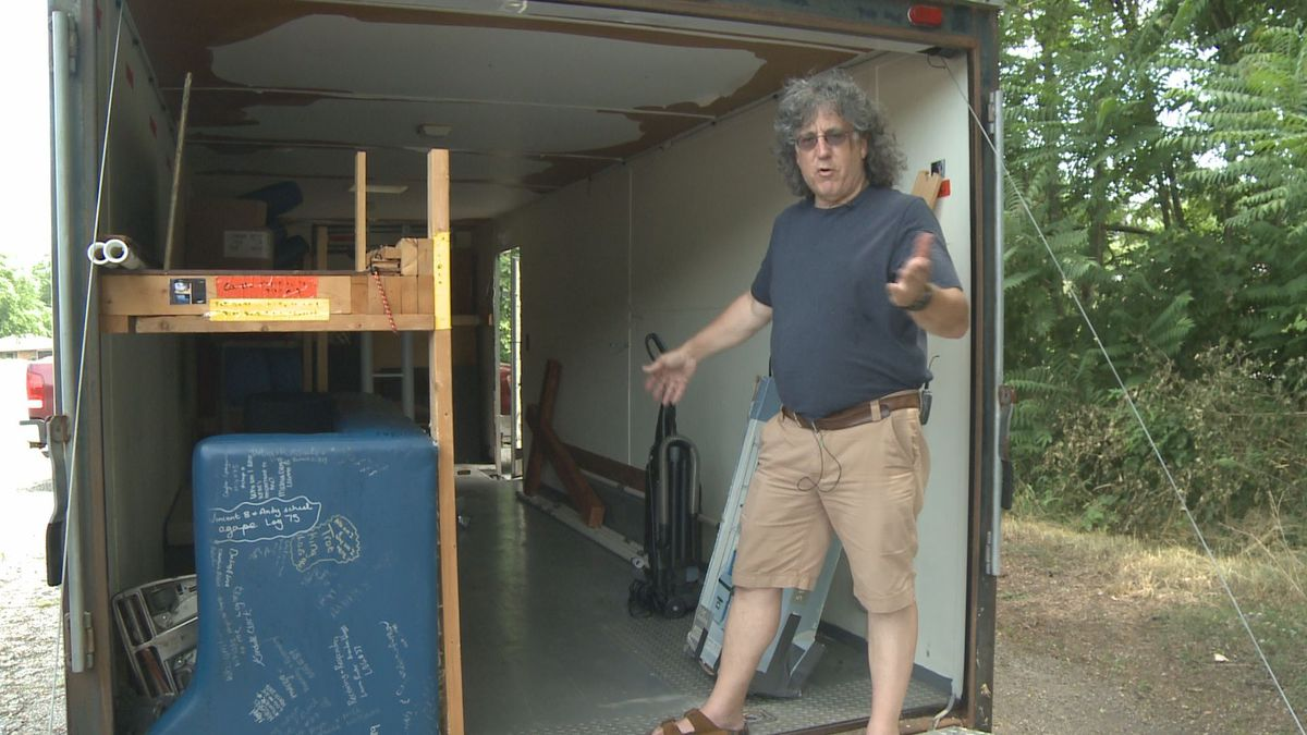 Love of God Michiana finds stolen trailer with irreplaceable items still inside.