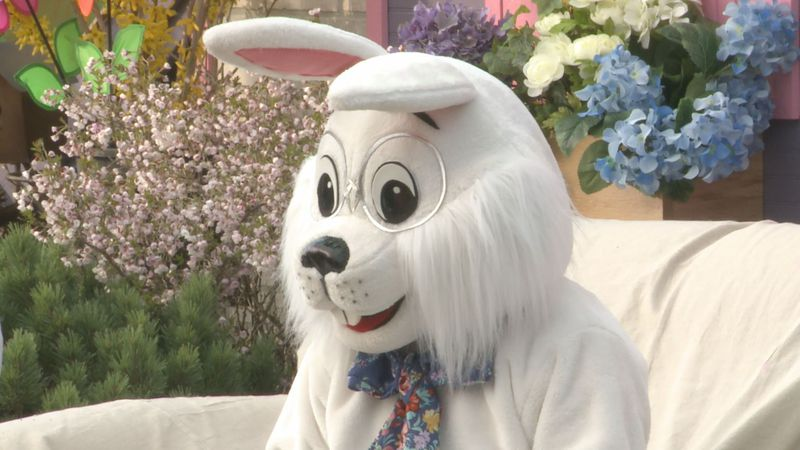 People were able to really get into the Easter spirit at Linton's Enchanted Gardens in Elkhart...