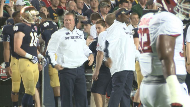 Kelly believes the Fighting Irish took their physicality to the next level against the Tigers...