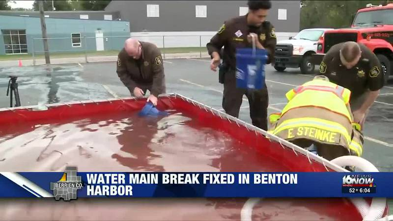 Faucets are once again working in Benton Harbor after a water main break there left sinks and...