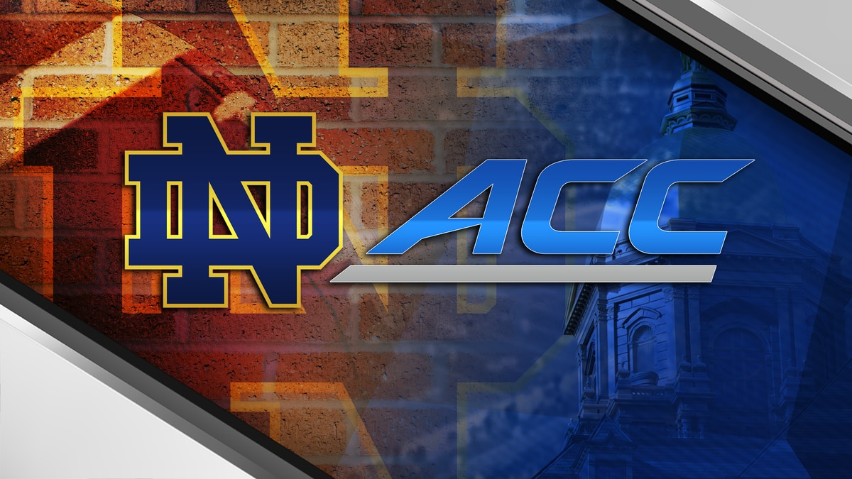 The ACC announced Wednesday that Notre Dame will join the conference for the 2020 season.