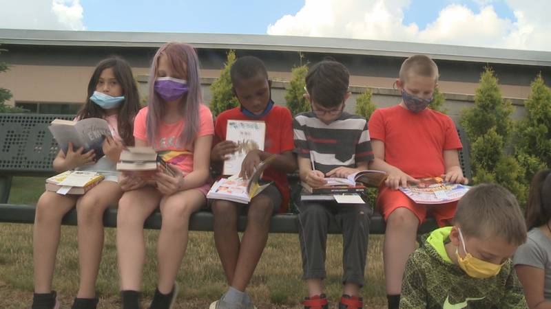 The idea behind these events is to encourage students to read over the summer.