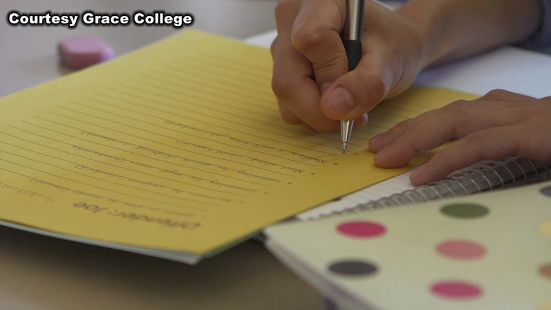 Grace College students have created a pen pal program to keep long-term residents connected.