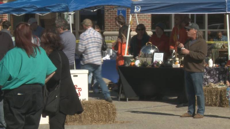 Local restaurants and organizations vied for the Michiana Chili Cook-off traveling trophies.