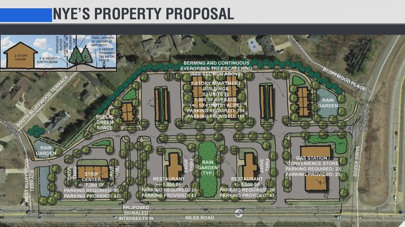 The St. Joseph Township Planning Commission heard this proposal to turn the 12-acre parcel into...