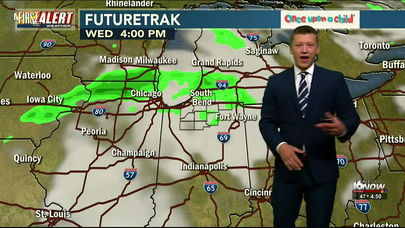 First Alert Forecast: Cooler with Lots of Sunshine Tuesday