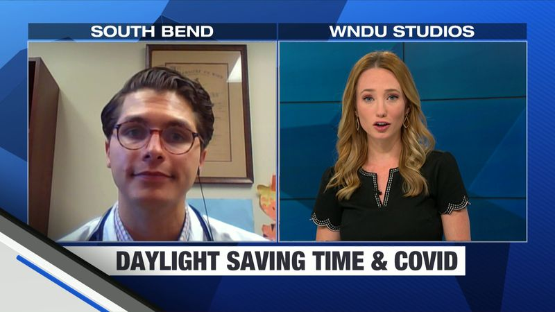 """Our Lauren Moss spoke to Dr. Bob Cassady of the South Bend Clinic for ways to safely """"fall..."""