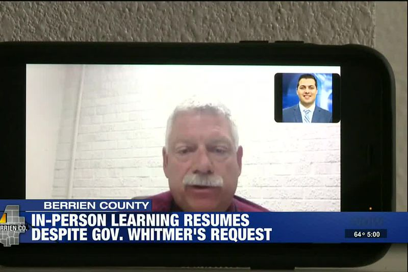 In-person learning resumes despite Gov. Whitmer's request
