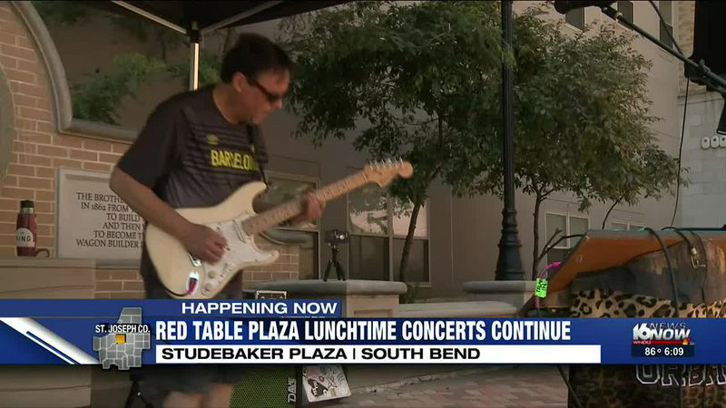 Red Table concert series returns