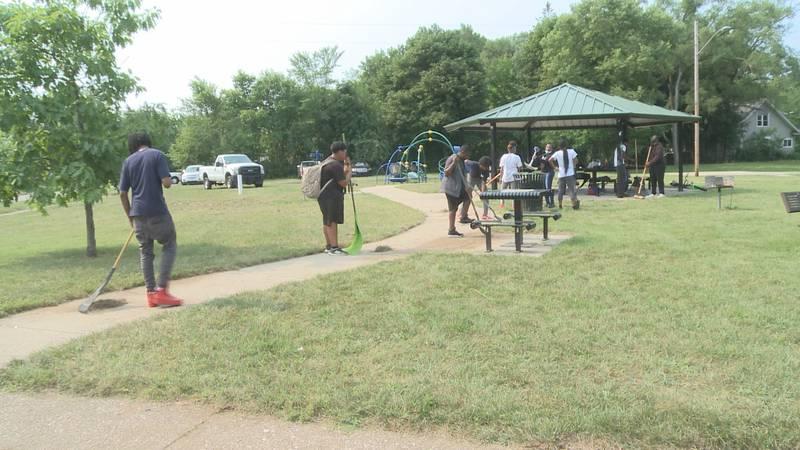 Dozens of Benton Harbor teens are learning job skills, thanks to a new summer work program.