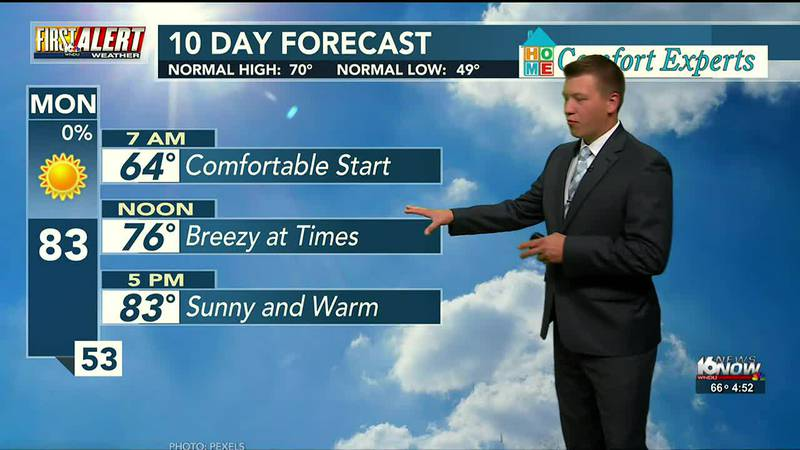 First Alert Forecast: Sunny and Warm End to September