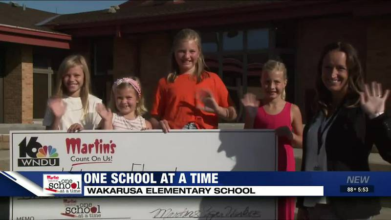 One School at a Time: Wakarusa Elementary shines
