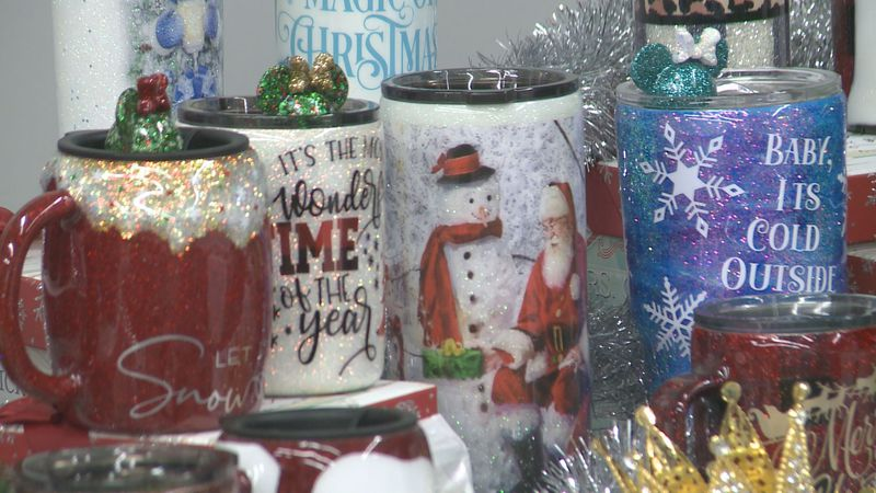 Several local businesses were able to showcase their products at a Holiday Craft and Vendor...