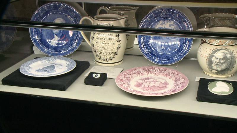 Beyond Wedgwood Blue has been on exhibit since July, and there's a special twist: guests can...