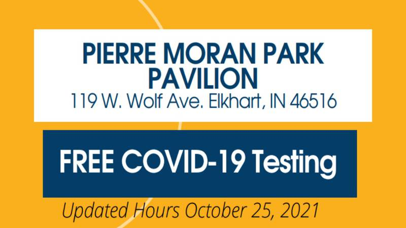 The testing site is open from 9 a.m. to 5 p.m. on Mondays, Wednesdays, and Fridays. On Tuesdays...