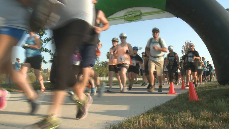 This is the start of a race that will take more than 150 teams of two around South Bend and...