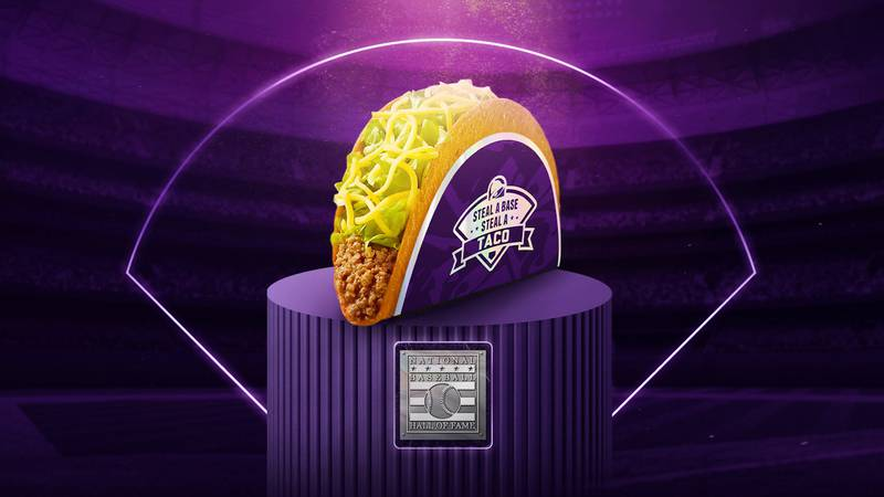 Taco Bell's highly anticipated 'Steal A Base, Steal A Taco' is back for its 10th year. To...