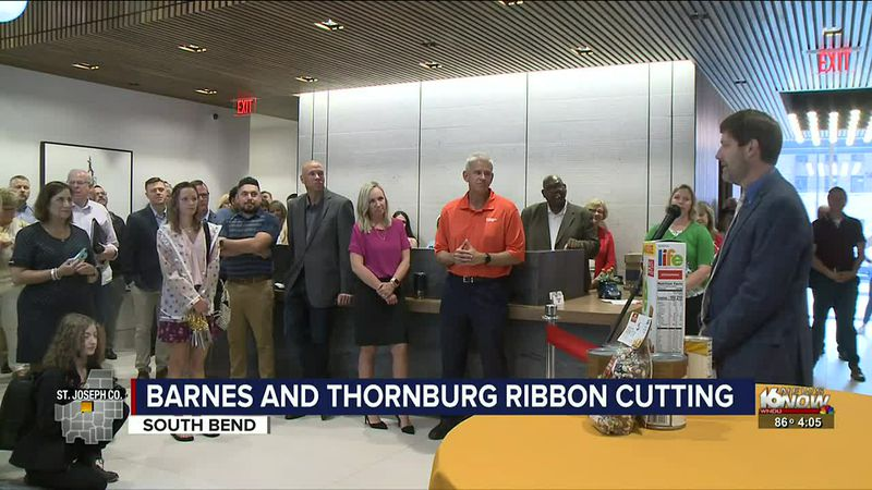 Barnes and Thornburg hosts official ribbon cutting