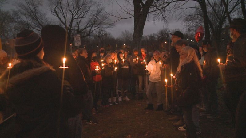 Dozens gathered in South Bend Sunday for a candlelight vigil honoring a Niles man whose body...