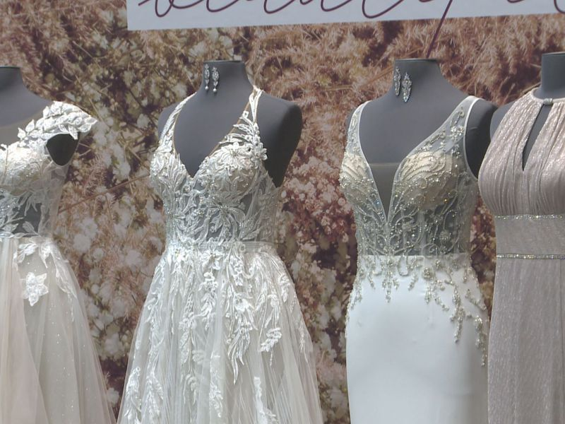 Brides in Michiana were able to plan for their big day at the 36th annual Bridal Spectacular.