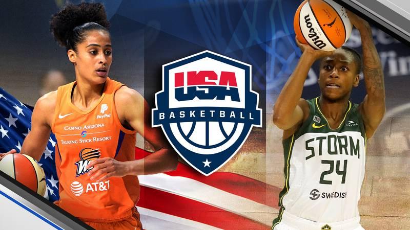 Former Irish women's basketball stars   Skylar Diggins-Smith and Jewell Loyd to represent Team...