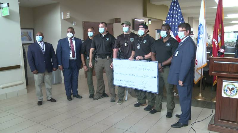 The St. Joseph County VA clinic received a large donation Wednesday from the 2021 Memorial Day...