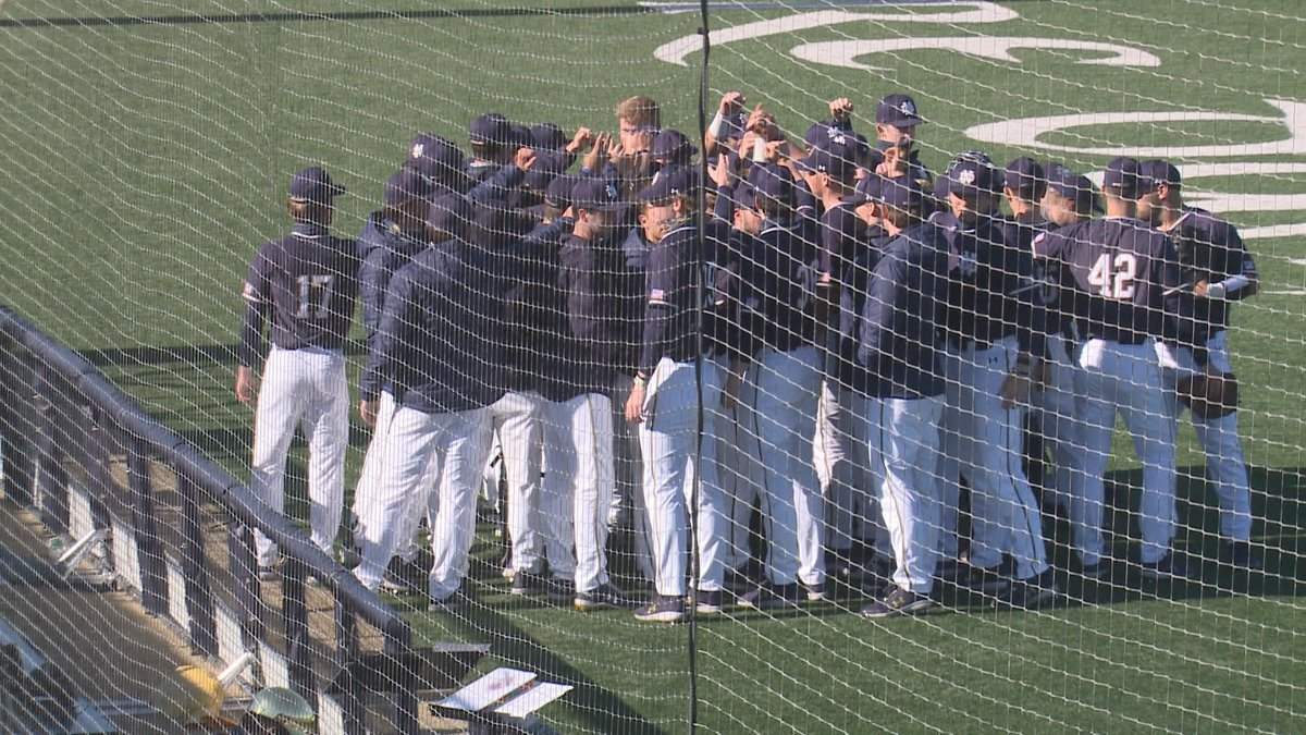Hits were hard to come by for the second-ranked Notre Dame baseball team as they fell to No. 13...