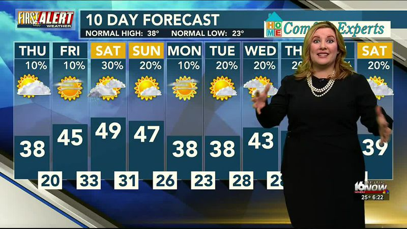 Meteorologist Kimberly Newman WNDU 2-25-21 First Alert Weather
