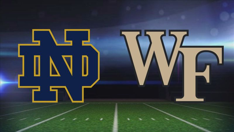 Notre Dame at Wake Forest Football