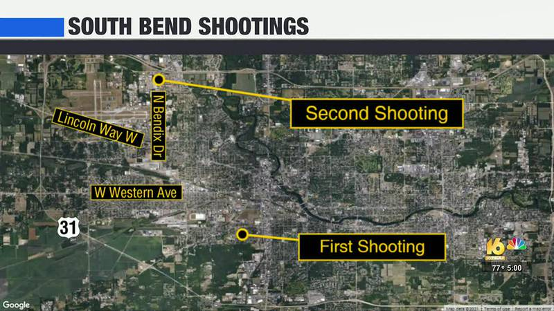 Three injured after separate shootings in South Bend