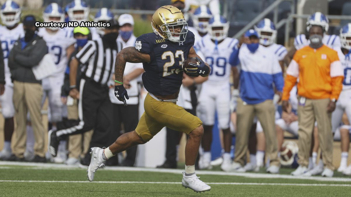 Williams recorded an FBS-leading 205 all-purpose yards.