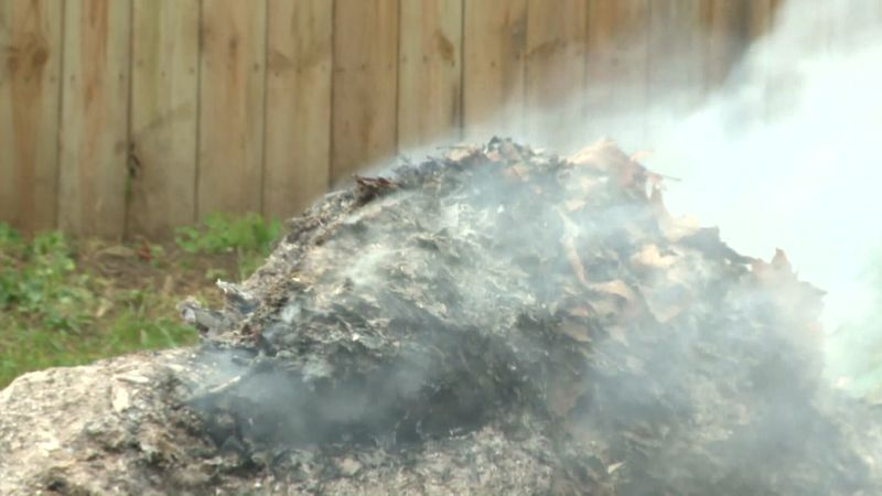 Odds are St. Joseph County residents have legally burned their last leaf.