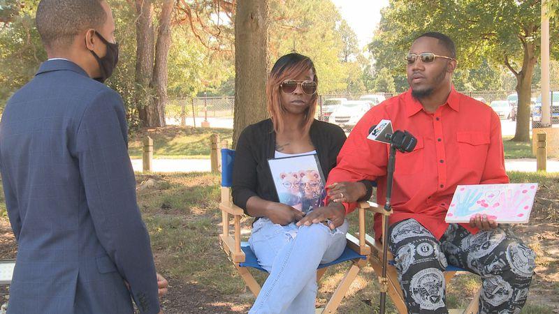 Chrisyah Stephens' parents speak with 16 News Now's Joshua Short.