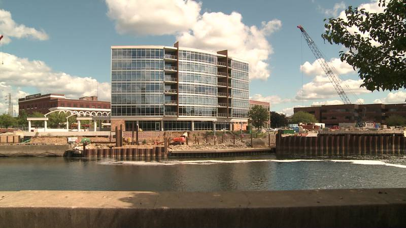 A new tenant at a luxury condo complex on South Bend's riverfront wants you to stop by for...