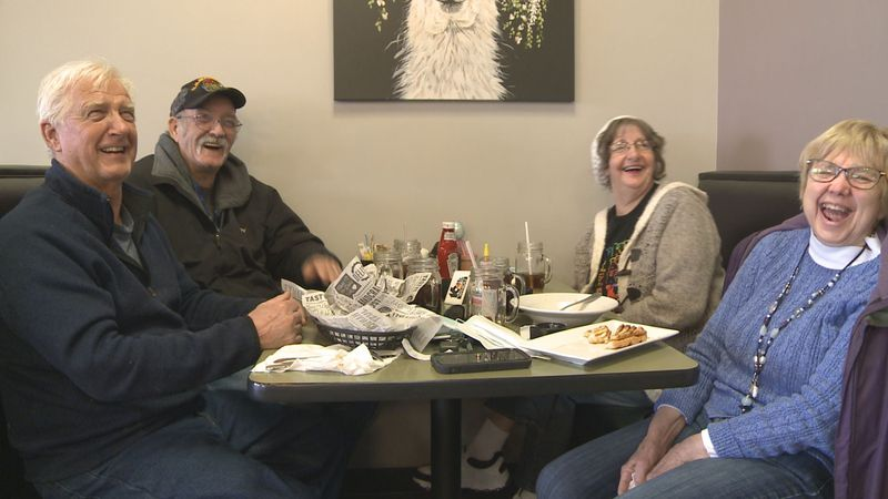 For the first time in over two months, the dining room was back open at Harvest Cafe in Niles...