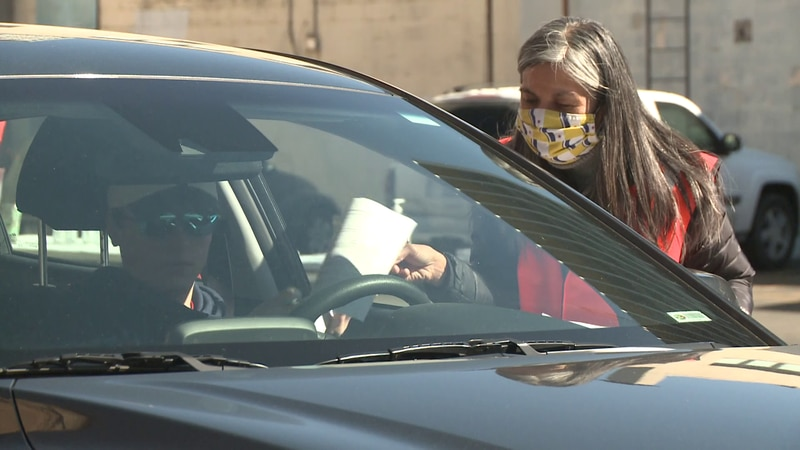 St. Joseph County Dems host drive-thru vote