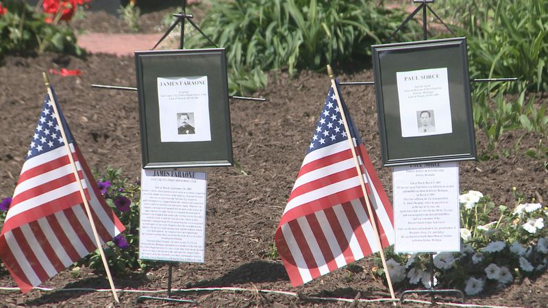 A memorial service honors officers in Berrien County who have lost their lives in the line of...