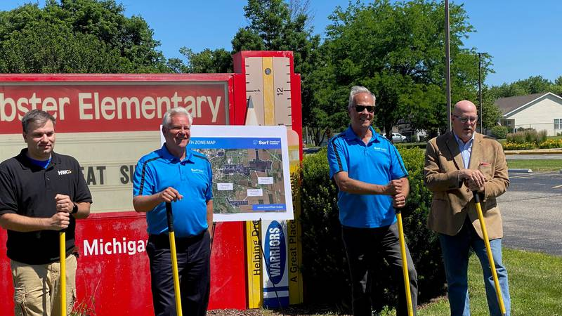 By installing fiber optics on homes throughout the area, residents will soon have access to...