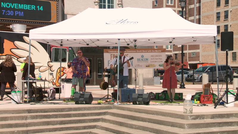 Deep Fried Pickle Project takes the stage at Fridays by the Fountain.