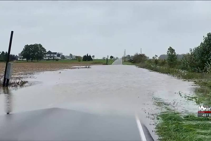 Cleanup efforts are underway after Sunday's heavy rain and flooding in some areas of Michiana.