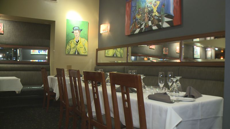 Delicious food and wine will be served, plus art will also be on display from local artist Shar...