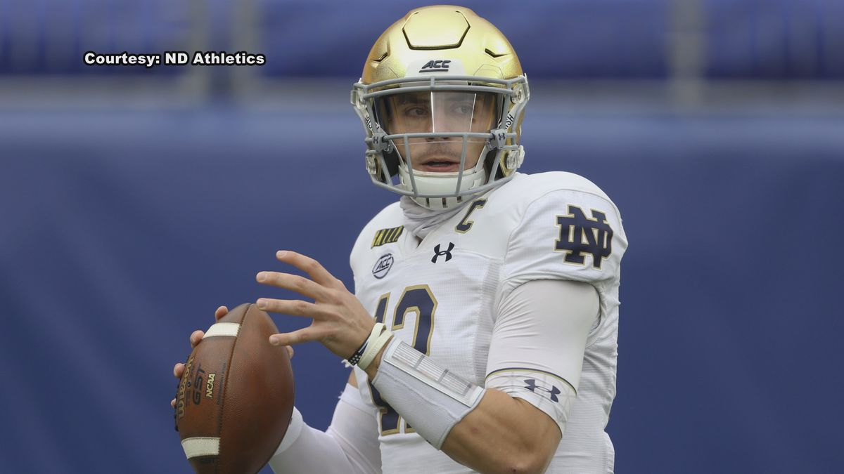 This is the fourth and fifth time Notre Dame football has been awarded weekly ACC honors in 2020.