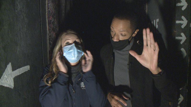 Josh and Melissa experience the Niles Scream Park.