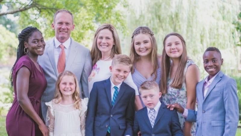 Amy Coney Barrett's family