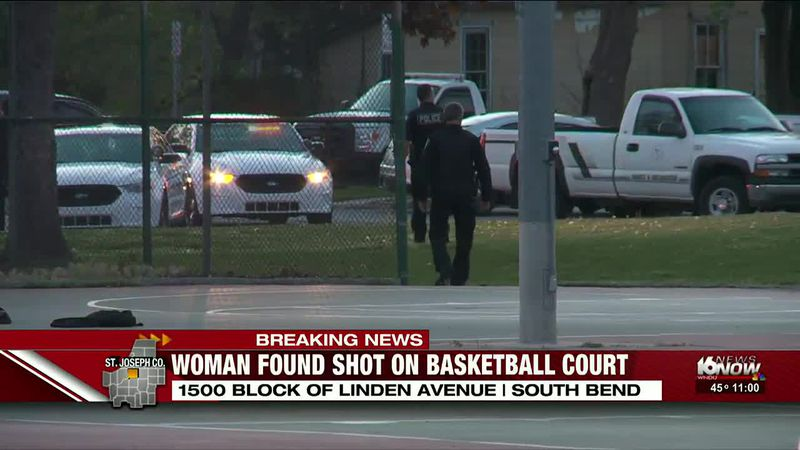 South Bend police investigating shooting on basketball court