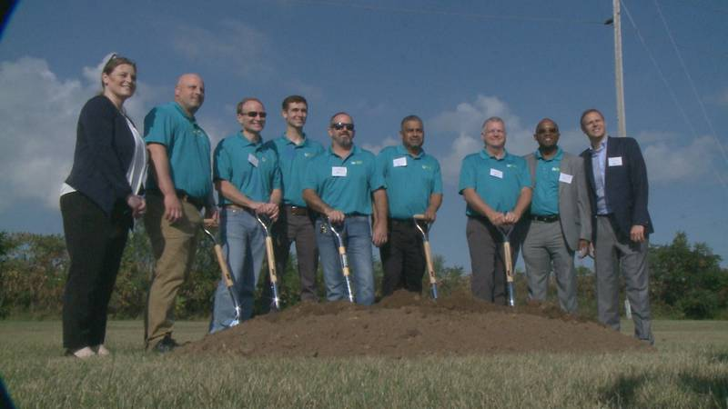 The plant will create at least 20 jobs by the end of next year, and they expect to add roughly...